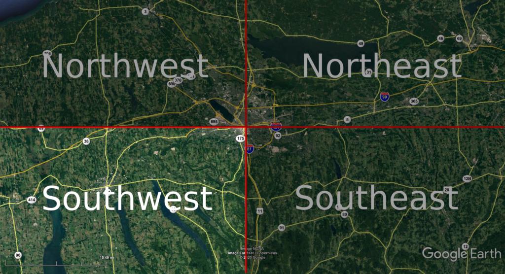 Southwest Service Area